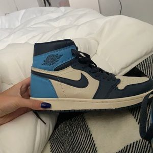 JORDAN 1 HIGH obsidians